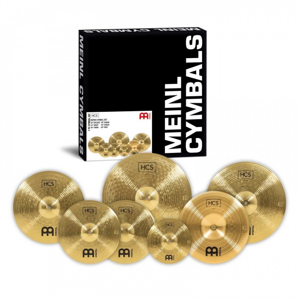 Meinl HCS Super 6 Cymbal Set