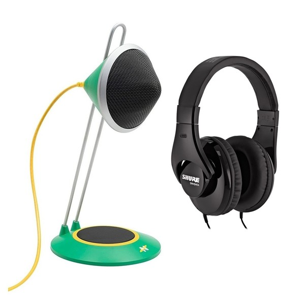 Neat Widget A USB Desktop Microphone with Headphones - Full Bundle