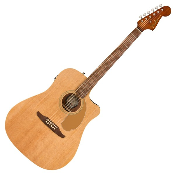 Fender Redondo Player Electro Acoustic WN, Natural - Front View