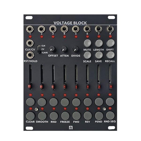 Malekko Voltage Block 8-Channel 16-Stage CV Sequencer, Black (20HP)