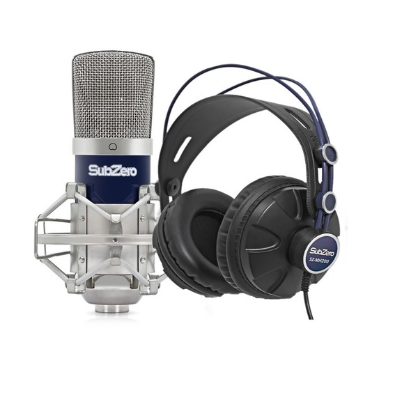 SubZero SZC-400 Microphone and Headphone Pack