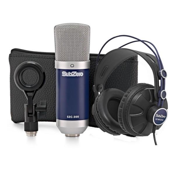 SubZero SZC-300 Microphone and Headphone Pack