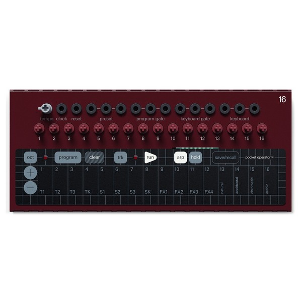 Teenage Engineering Modular 16 Keyboard Controller - Top