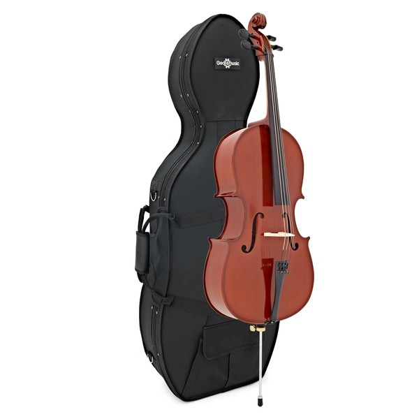 Student Plus 1/2 Size Cello with Case by Gear4music
