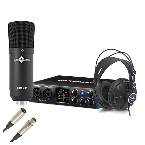 Presonus 24c Recording Bundle