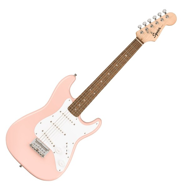 Squier Mini Stratocaster 3/4 Size, Shell Pink - Main