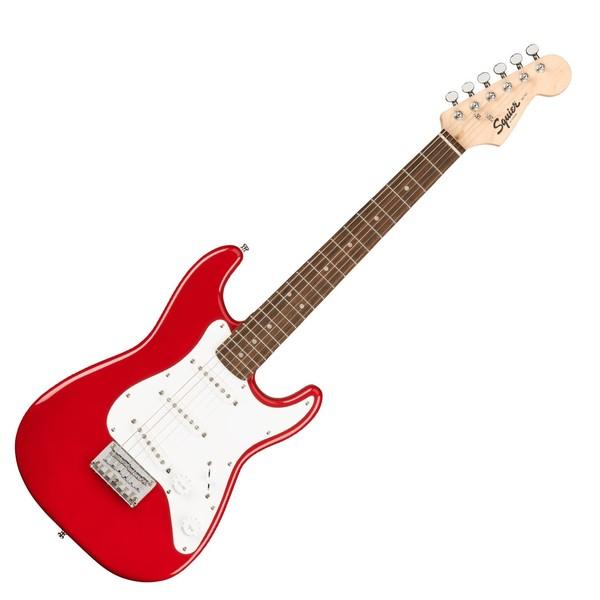 Squier Mini Stratocaster 3/4 Size, Dakota Red - Main