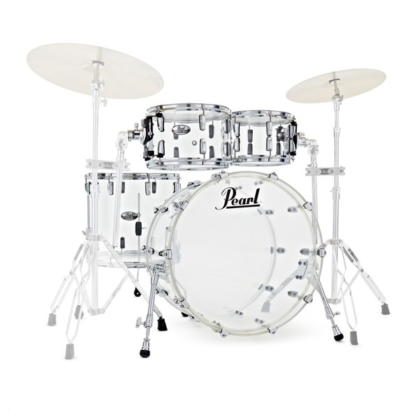 Pearl Crystal Beat 22'' American Fusion 4pc Shell Pack, Ultra Clear