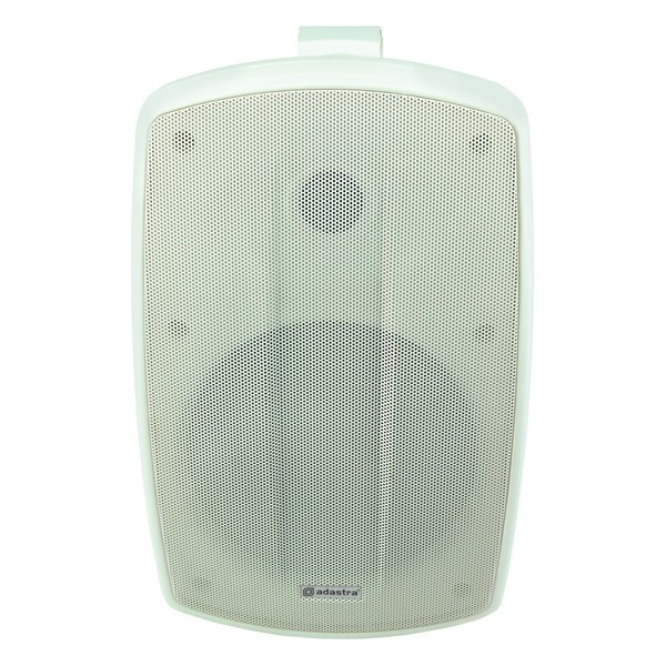 Adastra BH6V-W 100V Background Speaker IP44 White, Front