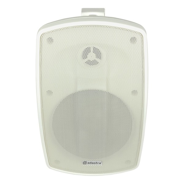 Adastra BH5V-W 100V Background Speaker IP44 White, Front