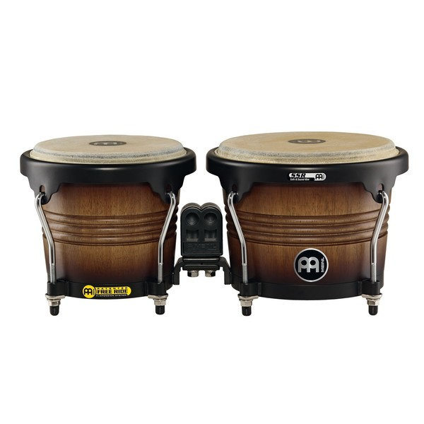 "Meinl Marathon Series 6 3/4"" & 8"" Bongos, Antique Tobacco Burst"