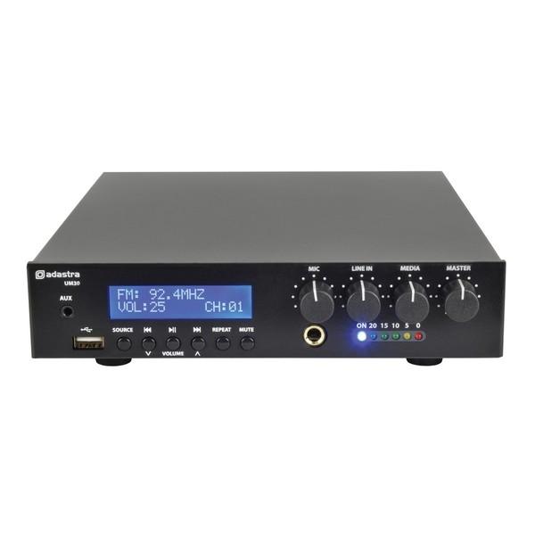 Adastra UM30 Compact 100V Mixer-Amp, Front
