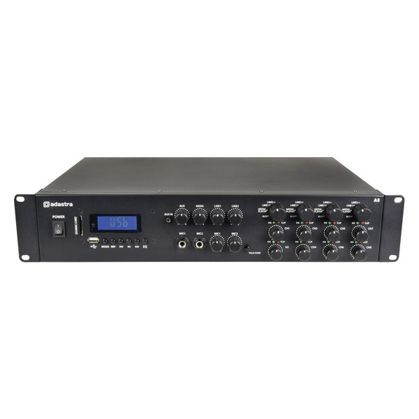 Adastra A-series Quad Zone Stereo Amplifier, Front