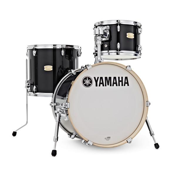 Yamaha Stage Custom Bop 3 Pc Shell Pack, Raven Black