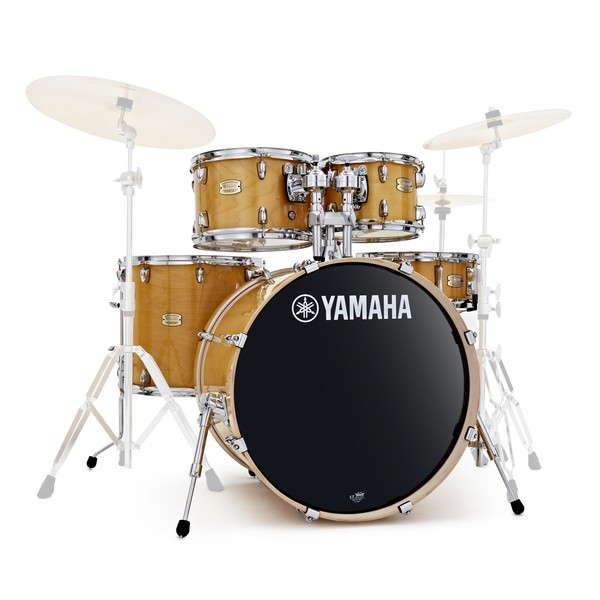 Yamaha Stage Custom Birch 22'' 5 Piece Shell Pack, Natural Wood