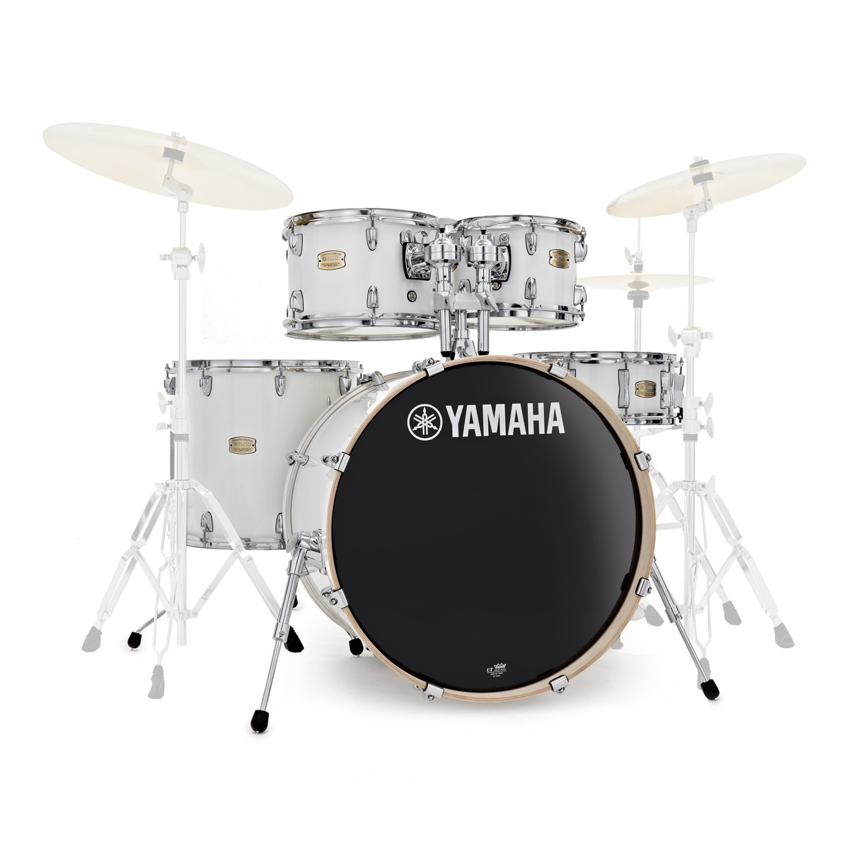 Click to view product details and reviews for Yamaha Stage Custom Birch 22 5pc Shell Pack Pure White.