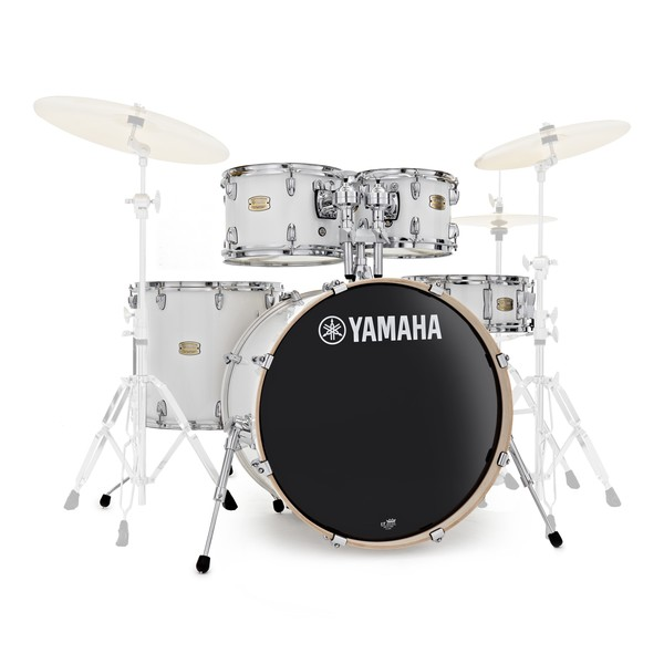 Yamaha Stage Custom Birch 22'' 5 Piece Shell Pack, Pure White