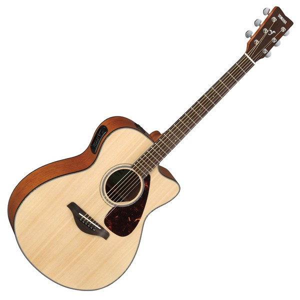 Yamaha FSX800C Electro Acoustic, Natural - Front View
