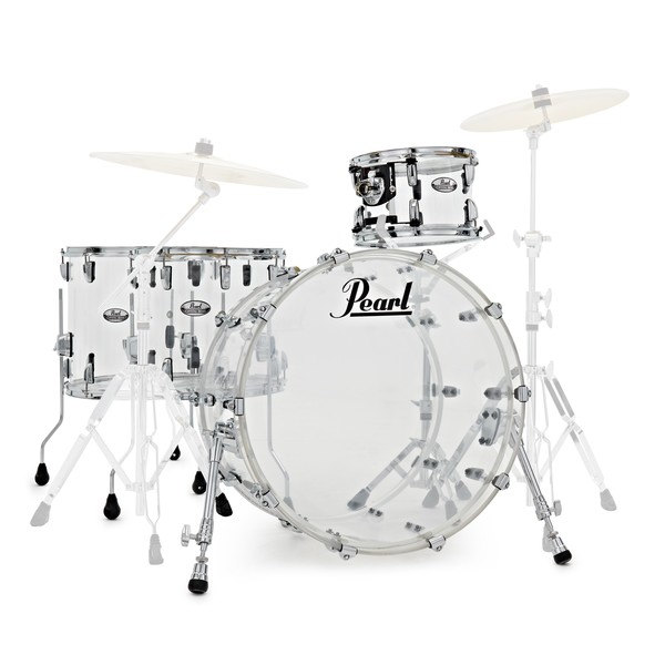 Pearl Crystal Beat 22'' 4pc Shell Pack, Ultra Clear