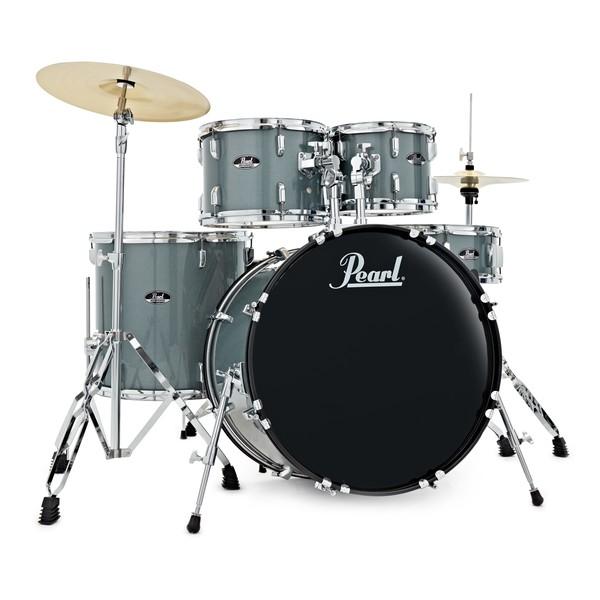 Pearl Roadshow 5pc 22'' US Fusion Drum Kit, Charcoal Metallic