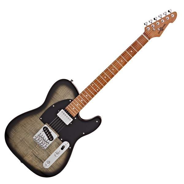 Knoxville Select Electric Guitar HS By Gear4music, Trans Black
