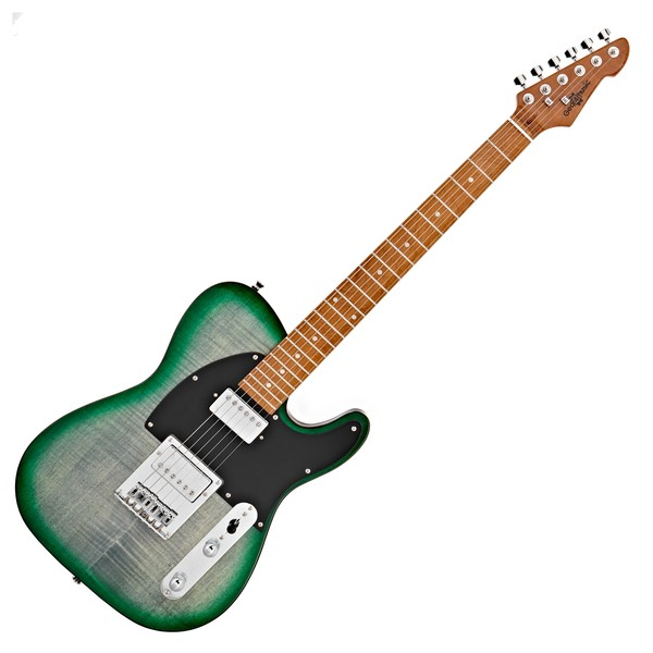 Knoxville Select Electric Guitar HH By Gear4music, Trans Green