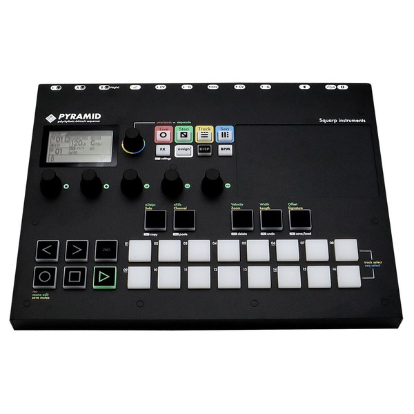 Squarp Instruments Pyramid MK3 Sequencer - Front