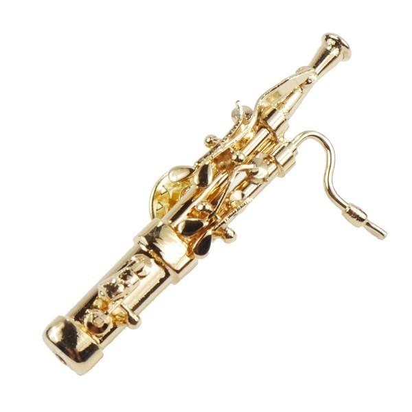 Agifty Mini Bassoon Pin