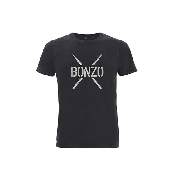John Bonham Black T-Shirt, Large