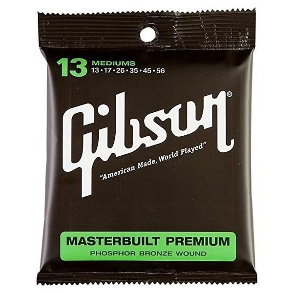 Gibson Masterbuilt Premium Phosphor Bronze, Medium 13-56 - main
