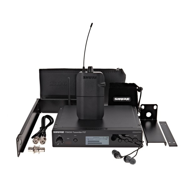 Shure PSM300 Wireless Monitor System with SE112 Earphones, S8