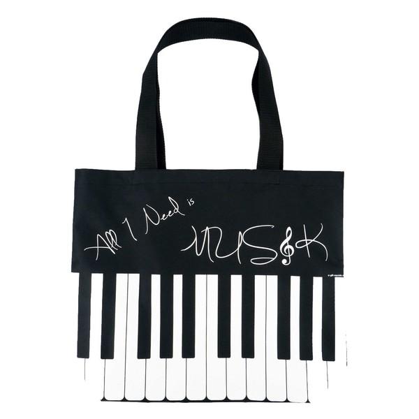 Agifty 'All I Need is Music' City Shopper, Keys