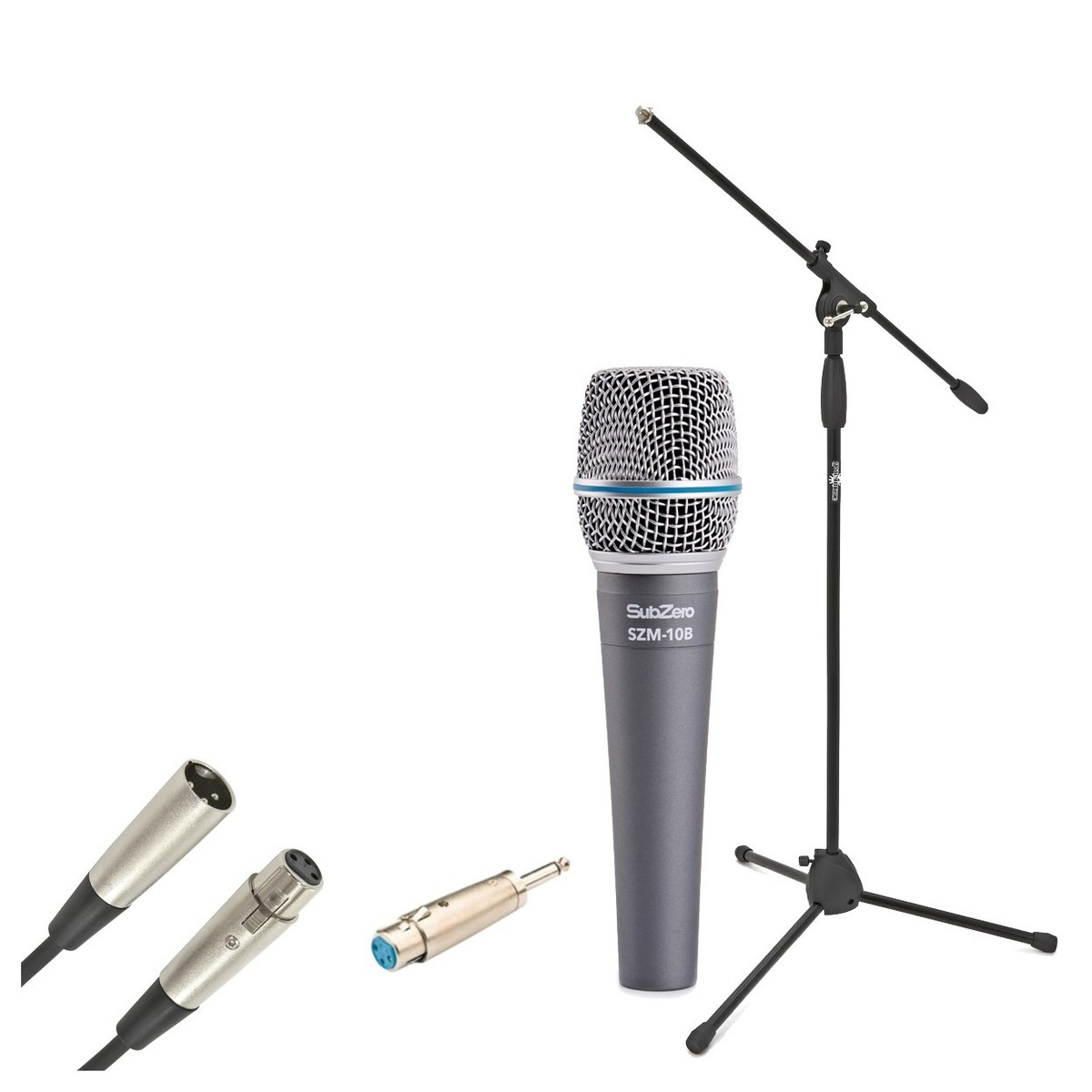 Subzero Beta Dynamic Instrument Mic With Cable And Mic Stand