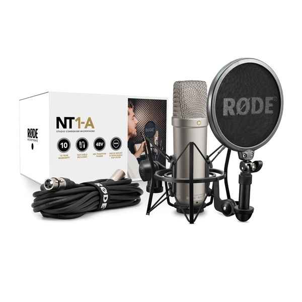 Rode NT1-A Vocal Recording Pack - All Contents