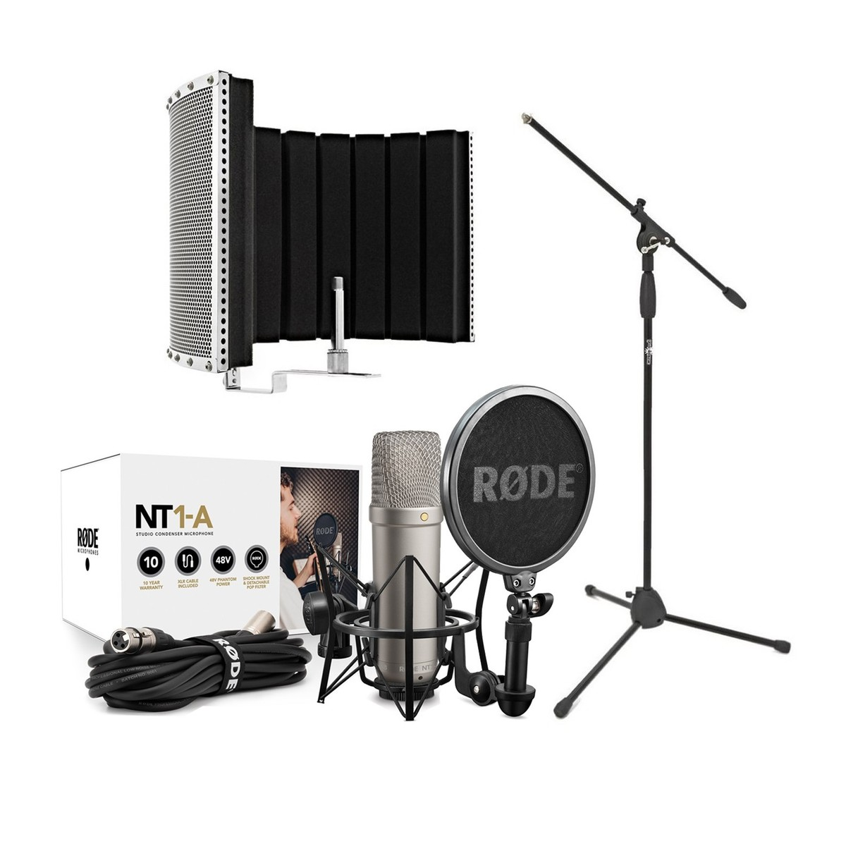 Rode NT1 A Vocal Recording Pack With ESI U22XT Interface
