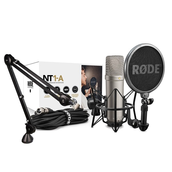 Rode NT1-A Vocal Recording Pack With Rode PSA1 Studio Arm - Main