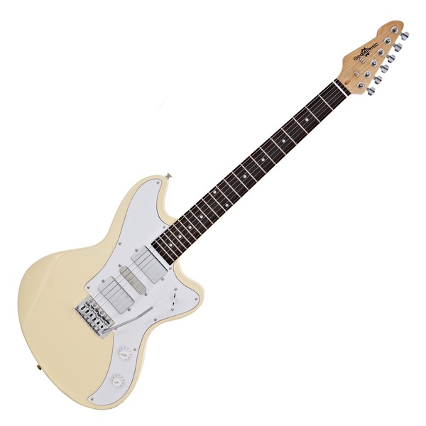 Seattle Electric Guitar by Gear4music, Vintage White