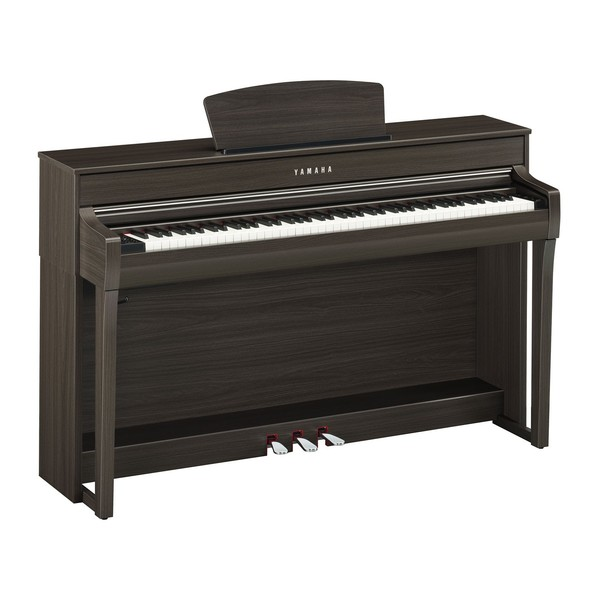 Yamaha CLP 735 Digital Piano, Dark Walnut