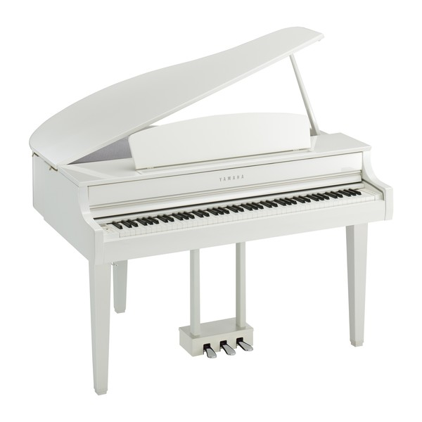 Yamaha CLP 765 Digital Grand Piano, Polished White