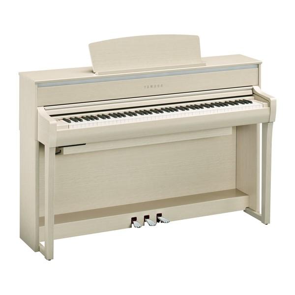 Yamaha CLP 775 Digital Piano, White Ash