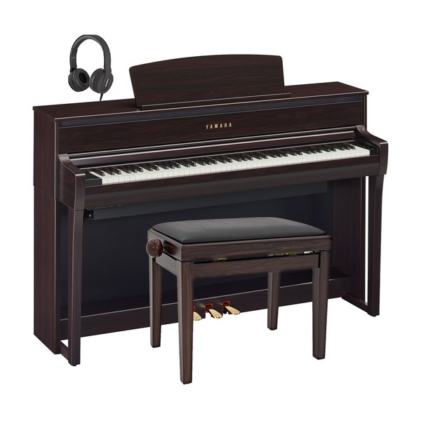 Yamaha CLP 775 Digital Piano Package, Rosewood