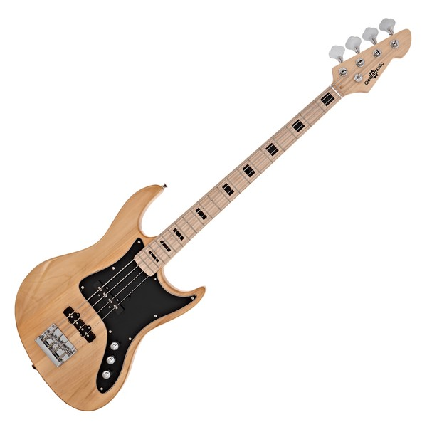 LA II Bass Guitar by Gear4music, Natural