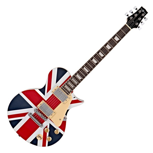 New Jersey Electric Guitar by Gear4music, Union Jack