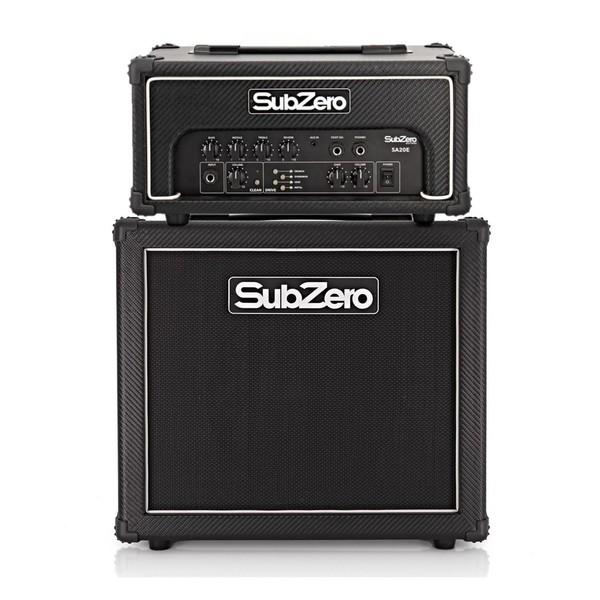 """SubZero SA-20E MKII Multi-Drive Amp Head + 10"""" Cab - main"""
