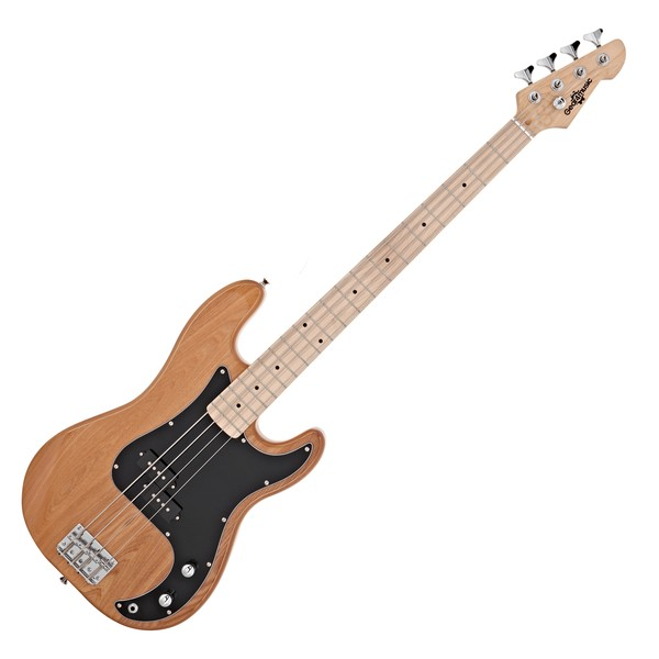 LA Select Bass Guitar by Gear4music, Natural