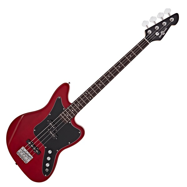 Seattle Bass Guitar by Gear4music, Red Wine