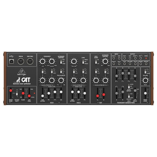 Behringer CAT Synth - Top