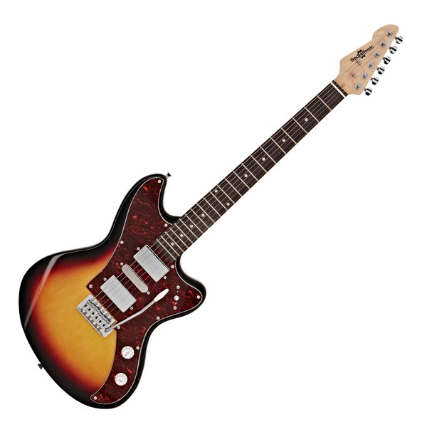 Seattle Electric Guitar by Gear4music, Sunburst