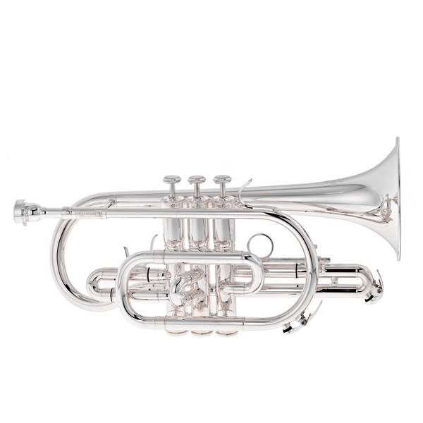 Besson BE120 Prodige Cornet, Silver Plated