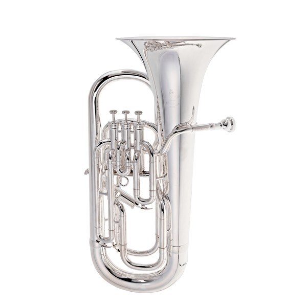 Besson BE165 Prodige 4 Valve Euphonium, Silver Plated